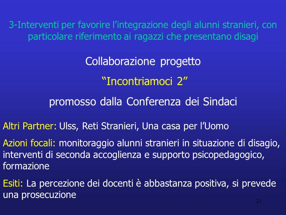 Collaborazione progetto Incontriamoci 2