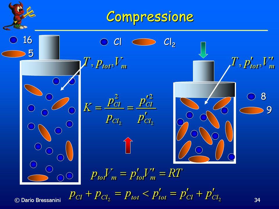 Compressione 16 Cl Cl2 5 8 9 © Dario Bressanini