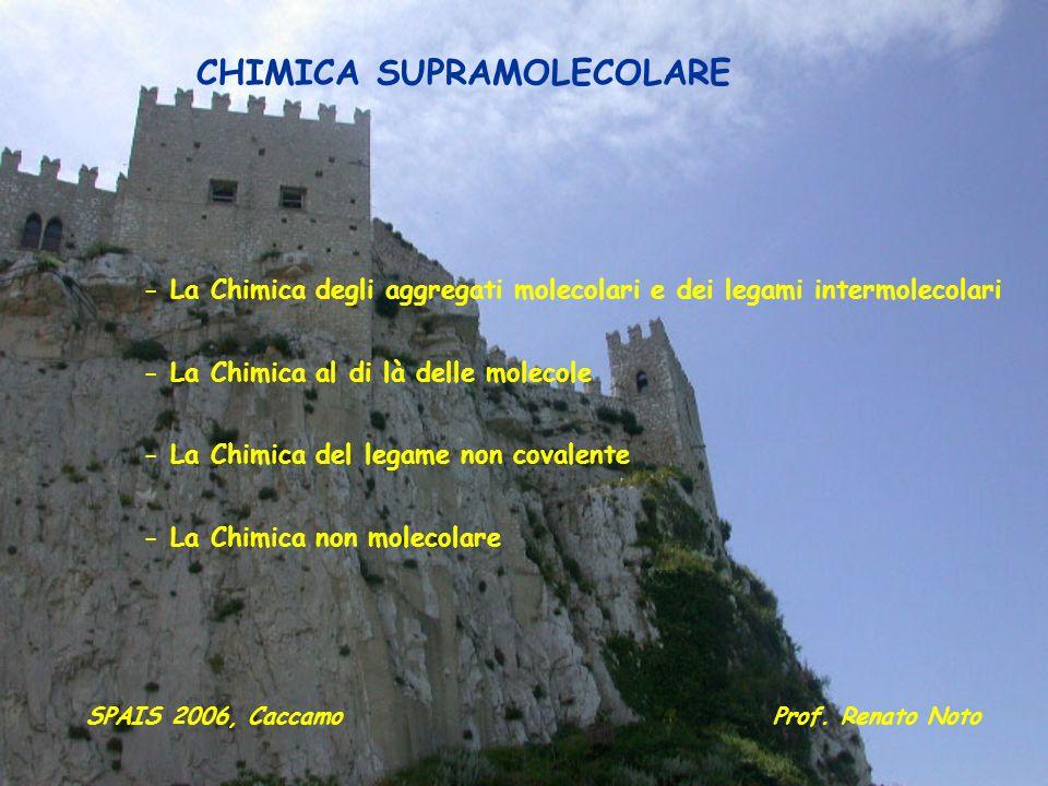 CHIMICA SUPRAMOLECOLARE