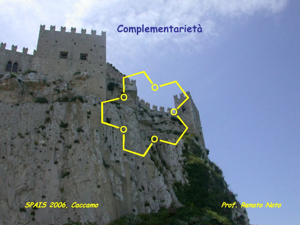 Complementarietà SPAIS 2006, Caccamo Prof. Renato Noto
