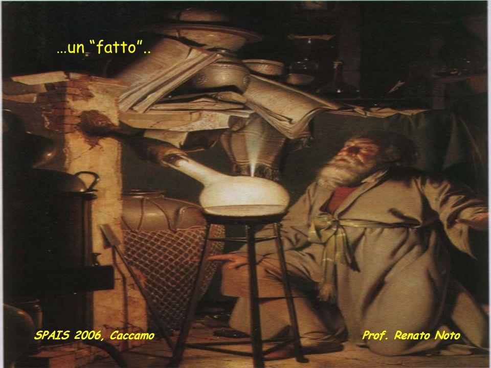 …un fatto .. SPAIS 2006, Caccamo Prof. Renato Noto