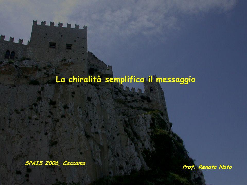 La chiralità semplifica il messaggio