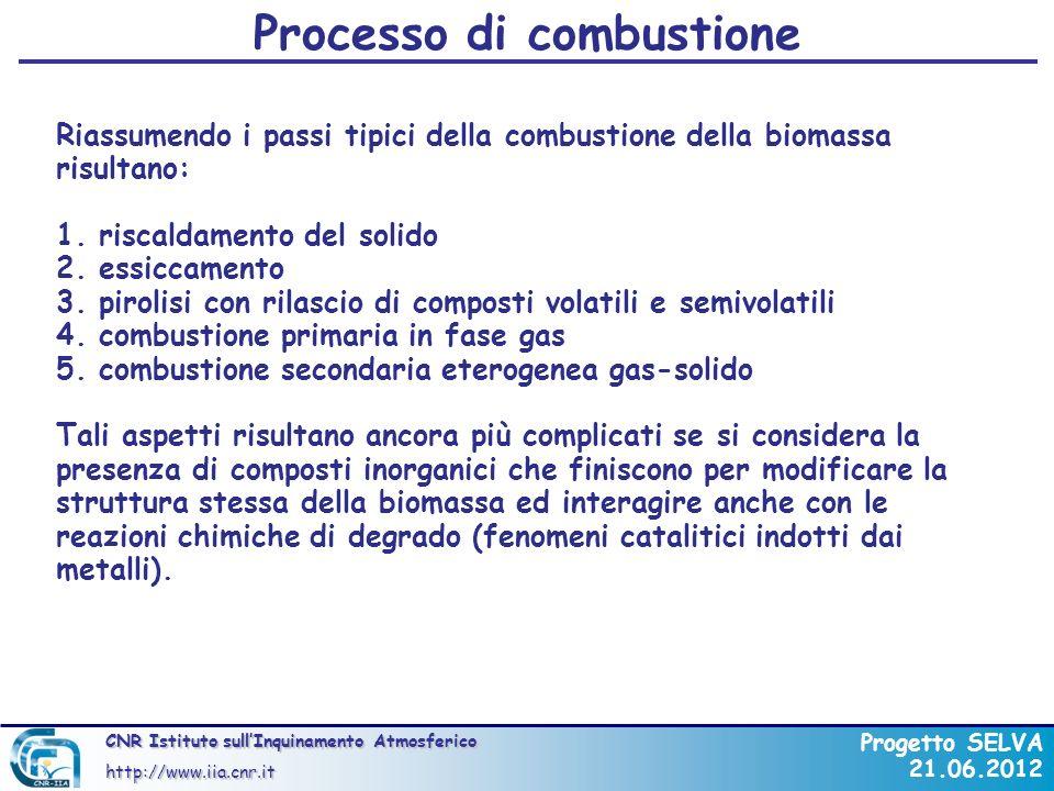 Processo di combustione