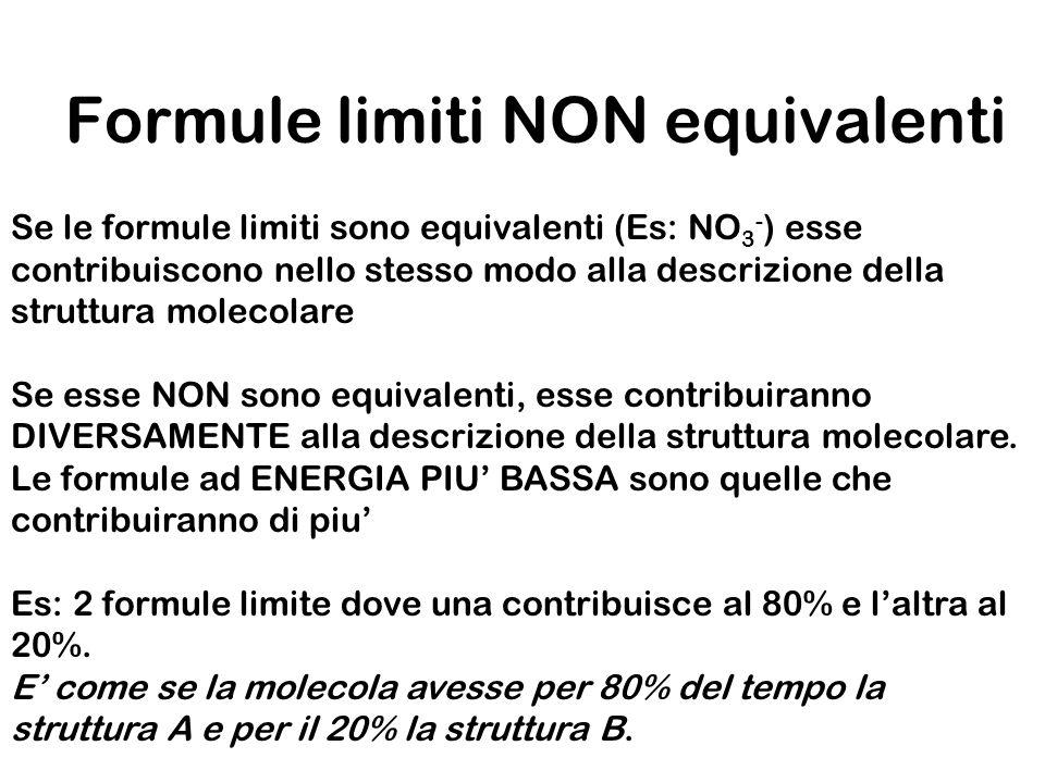 Formule limiti NON equivalenti