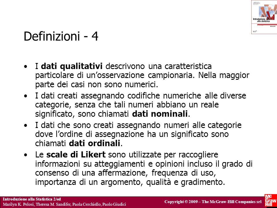Definizioni - 4