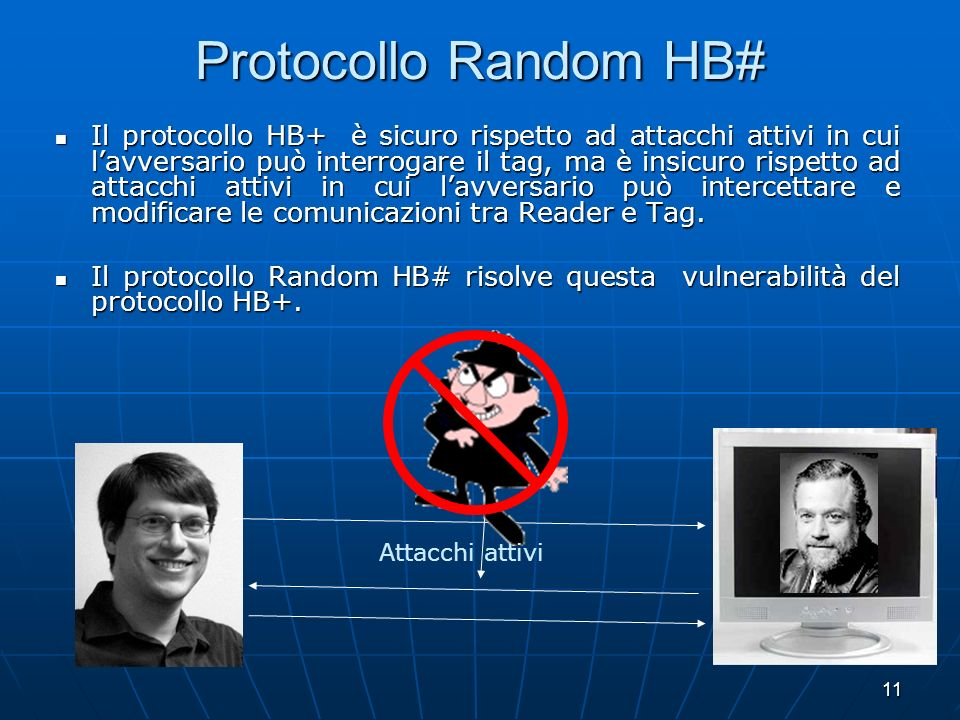 Protocollo Random HB#