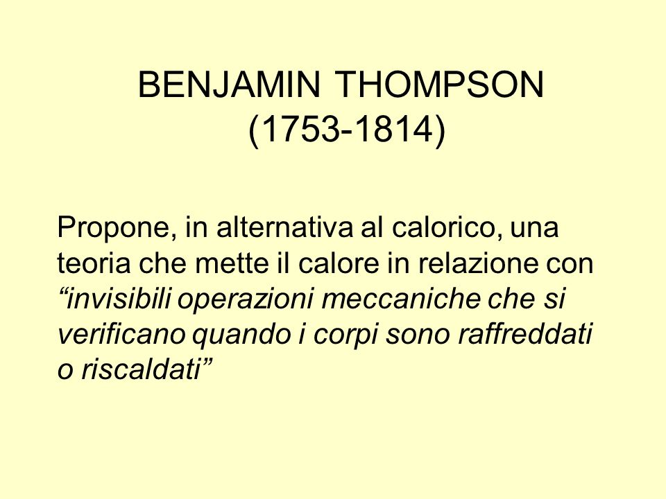 BENJAMIN THOMPSON (1753-1814)