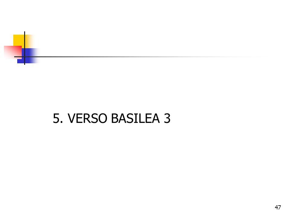 5. VERSO BASILEA 3