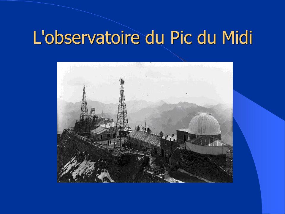 L observatoire du Pic du Midi