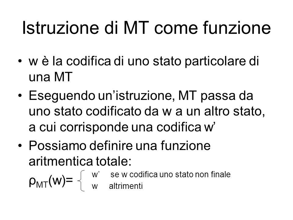 Istruzione di MT come funzione