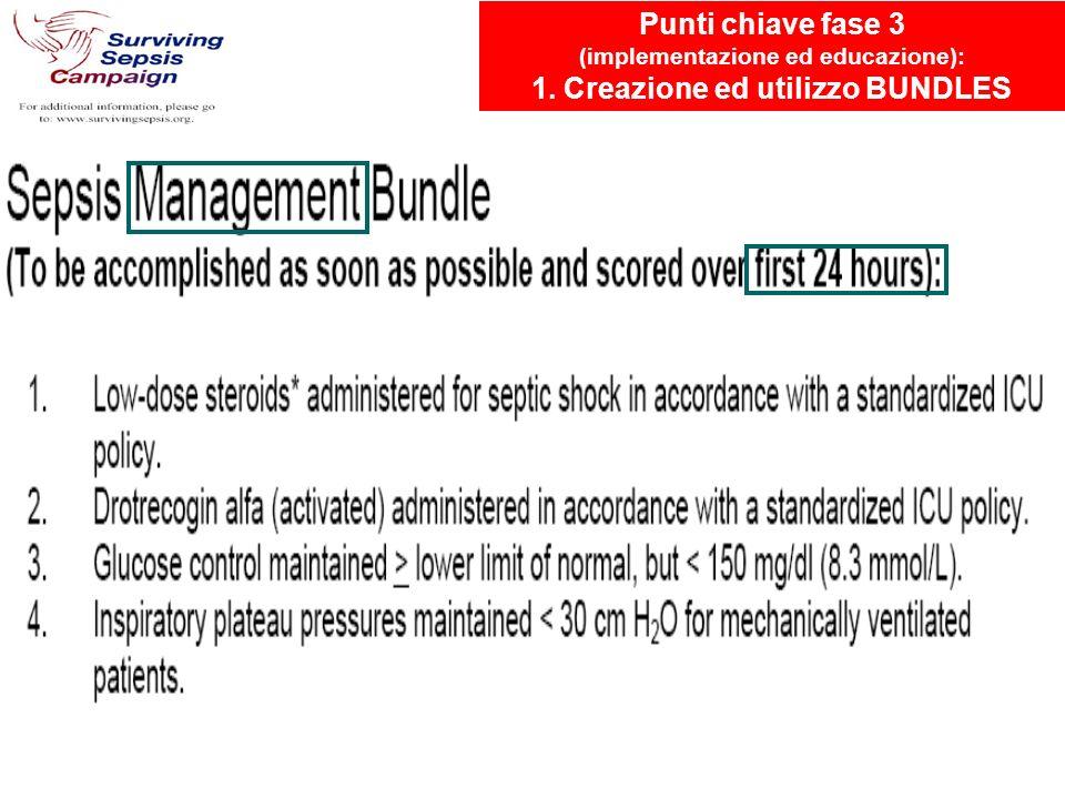(implementazione ed educazione): 1. Creazione ed utilizzo BUNDLES