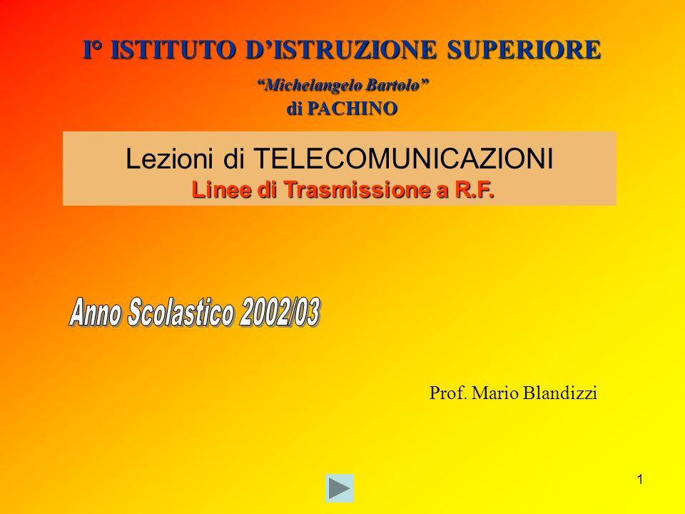 I° ISTITUTO D'ISTRUZIONE SUPERIORE Michelangelo Bartolo