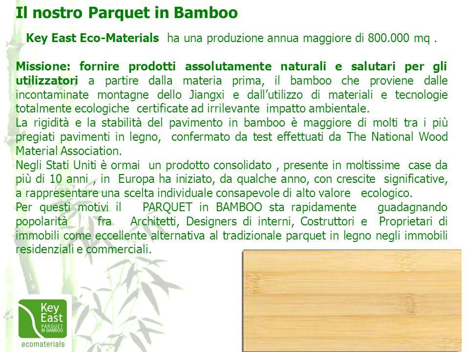Il nostro Parquet in Bamboo