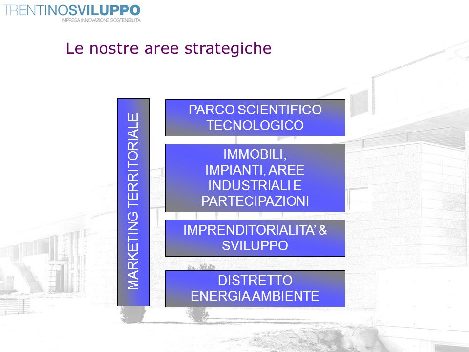 Le nostre aree strategiche