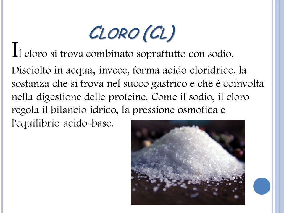 Cloro (Cl)