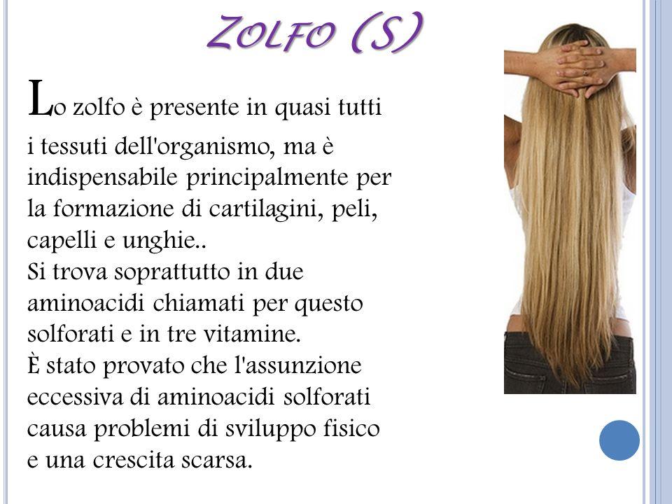 Zolfo (S)