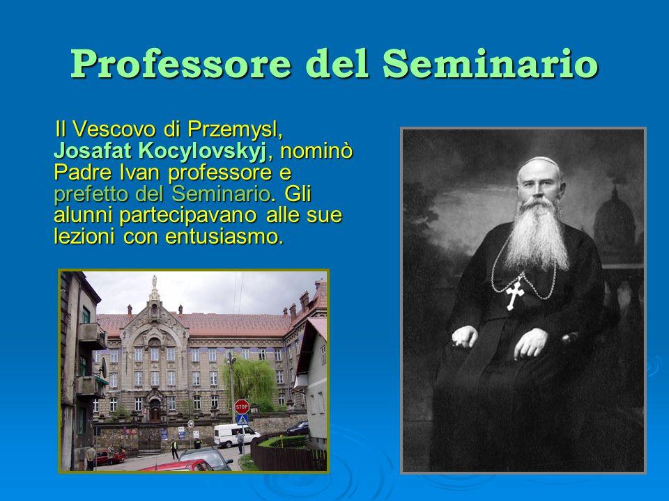 Professore del Seminario