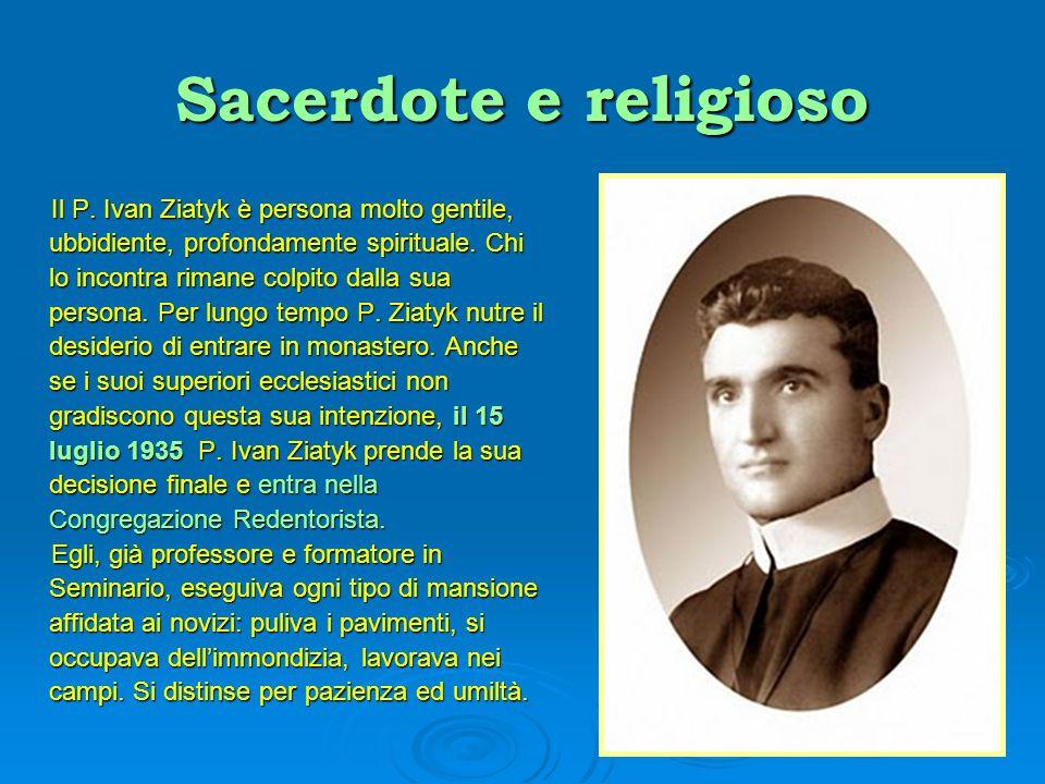 Sacerdote e religioso