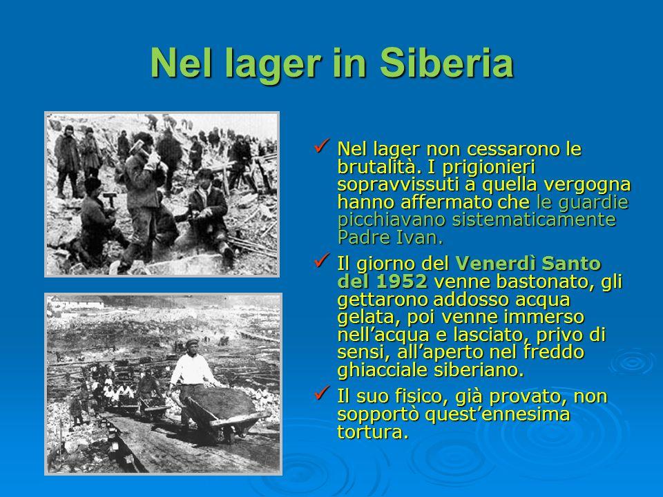Nel lager in Siberia