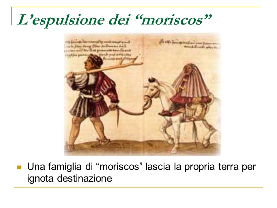 L'espulsione dei moriscos