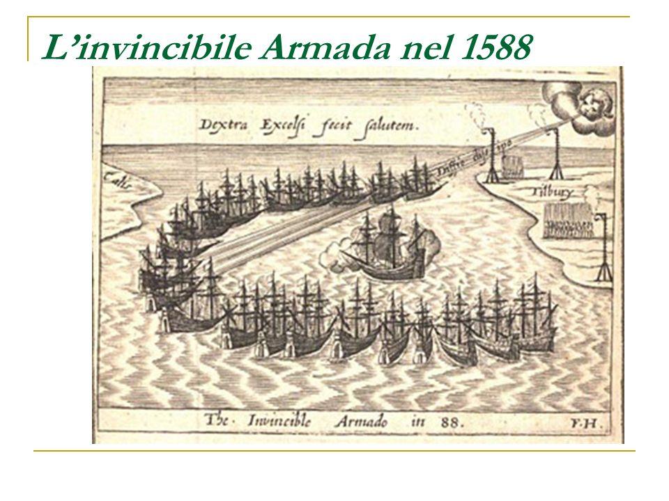 L'invincibile Armada nel 1588