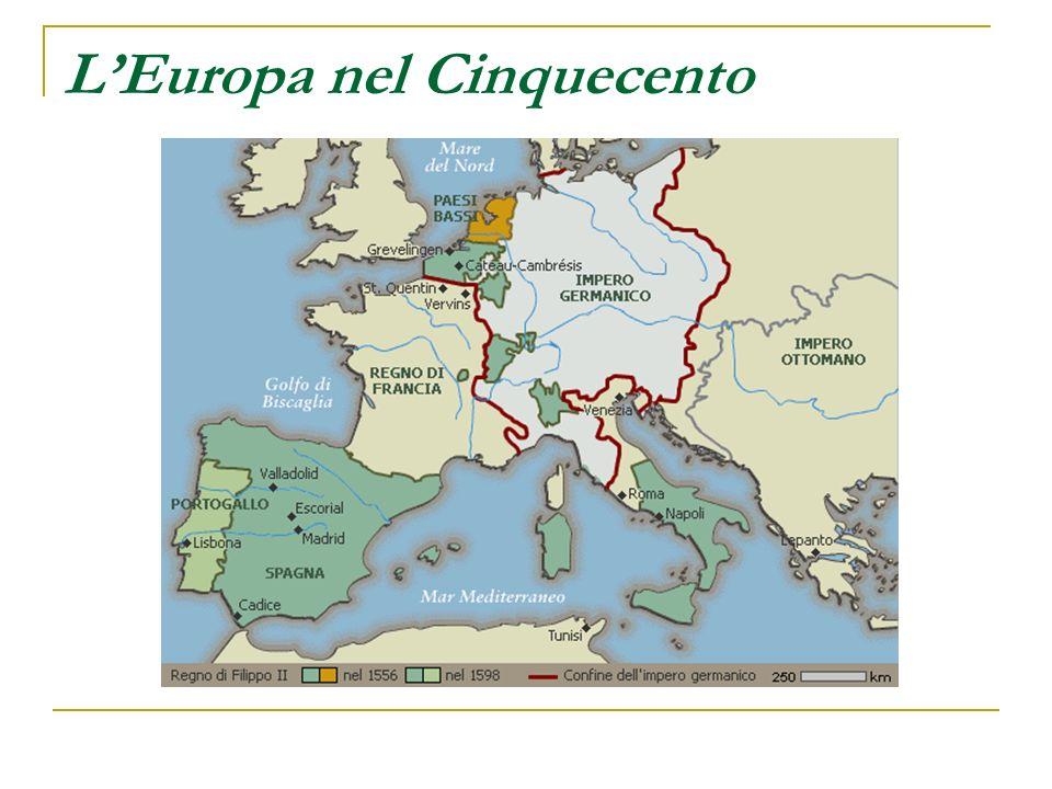 L'Europa nel Cinquecento