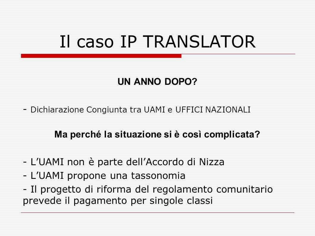 Il caso IP TRANSLATOR