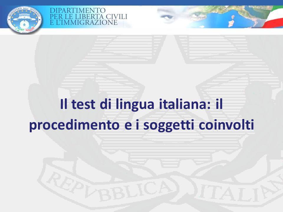 Best Test Della Lingua Italiana Per Carta Di Soggiorno Pictures ...