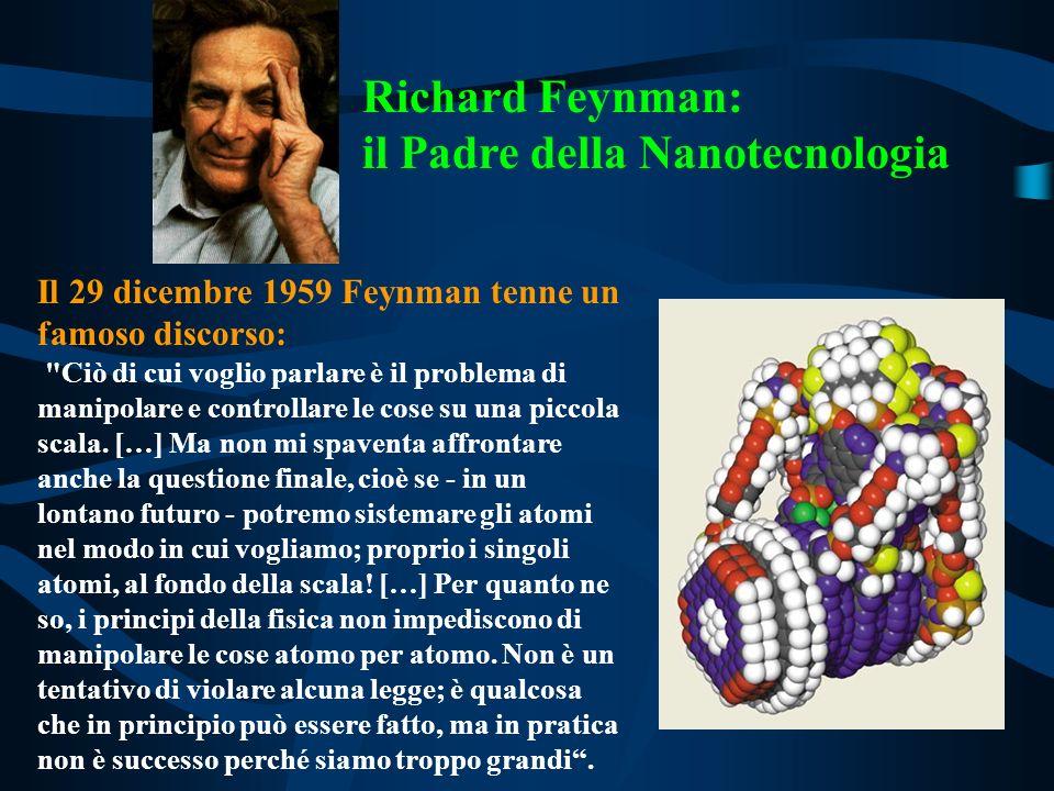 Richard Feynman: il Padre della Nanotecnologia