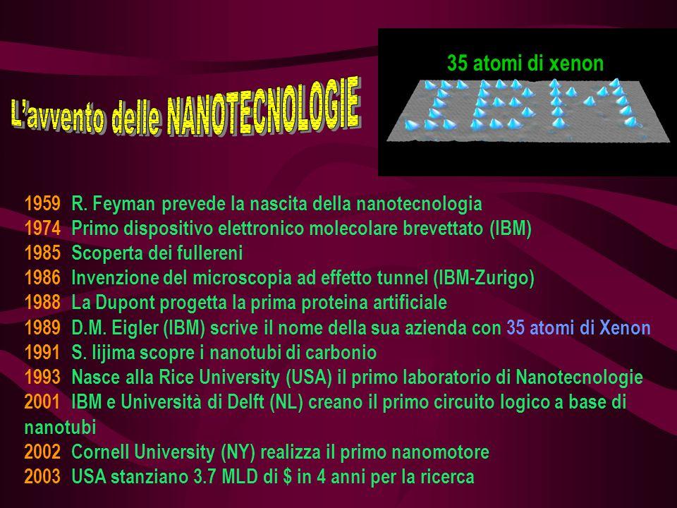 L'avvento delle NANOTECNOLOGIE