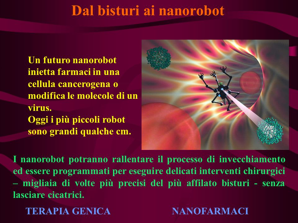 Dal bisturi ai nanorobot