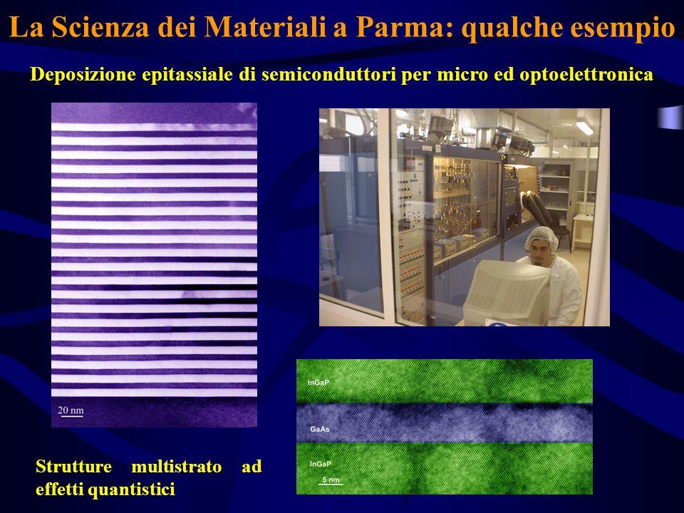 La Scienza dei Materiali a Parma: qualche esempio
