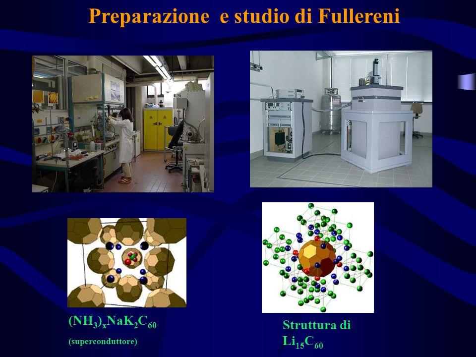Preparazione e studio di Fullereni