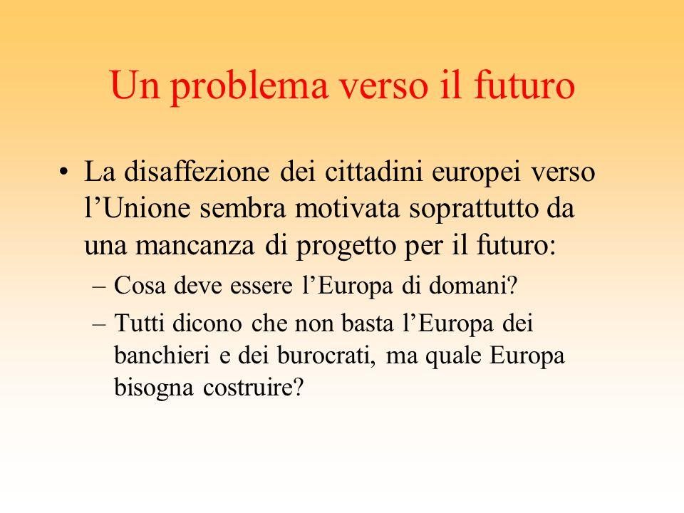 Un problema verso il futuro