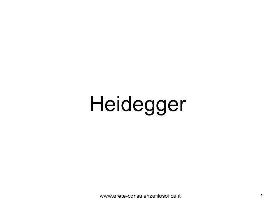 Heidegger www.arete-consulenzafilosofica.it