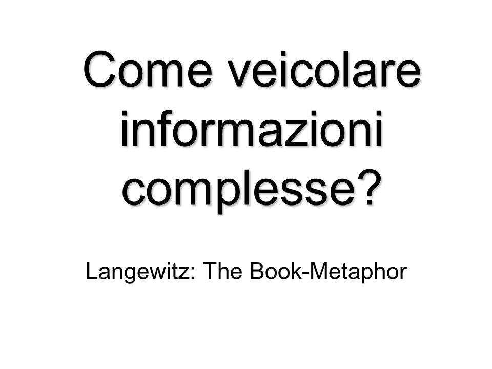 Come veicolare informazioni complesse