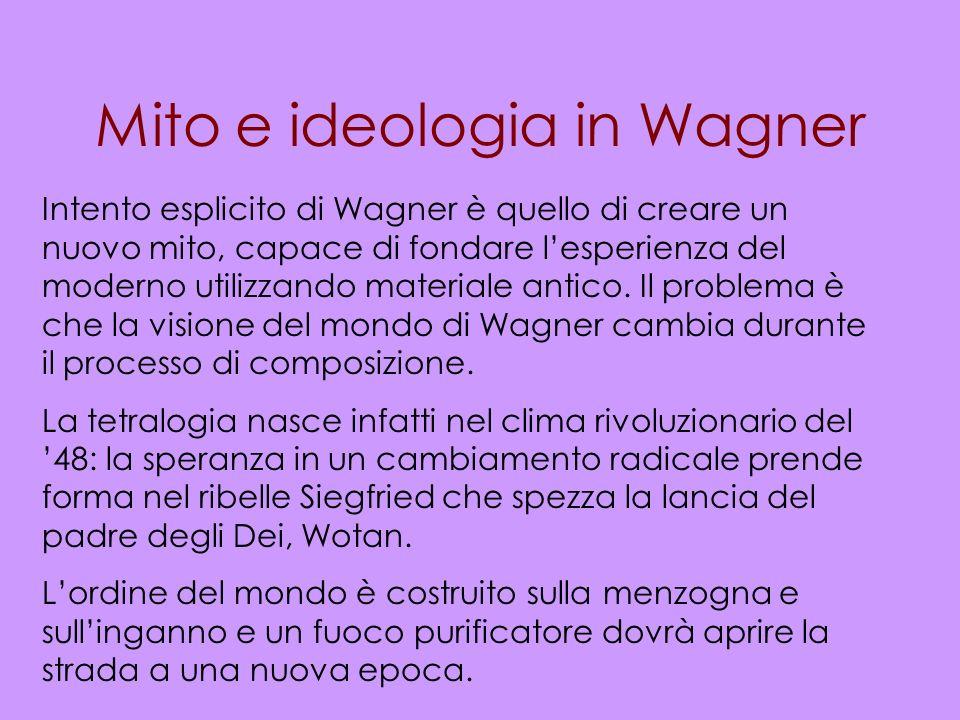Mito e ideologia in Wagner