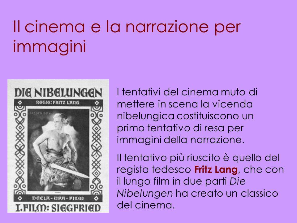 Il cinema e la narrazione per immagini