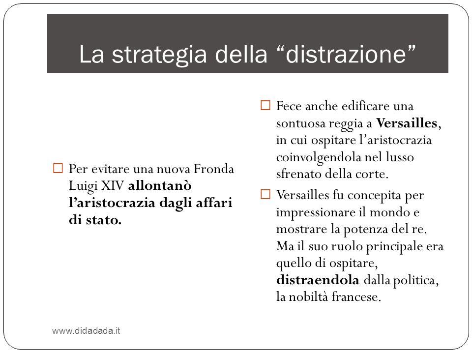 La strategia della distrazione