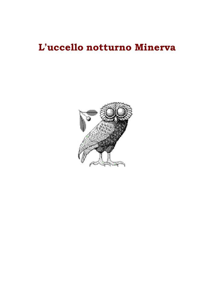 L'uccello notturno Minerva