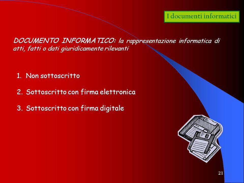 I documenti informatici