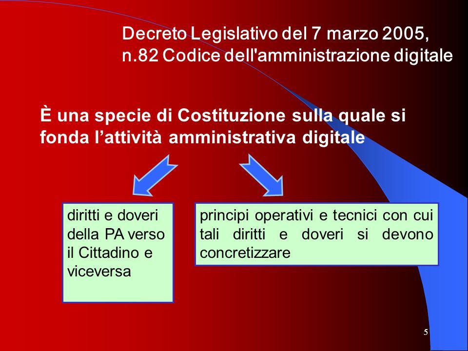 Decreto Legislativo del 7 marzo 2005, n