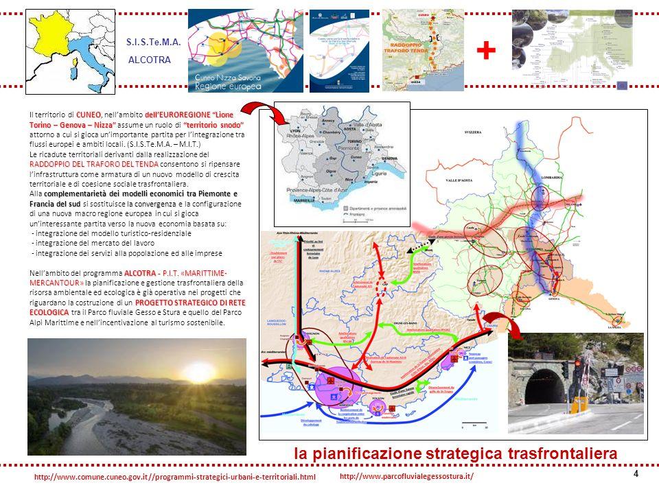 la pianificazione strategica trasfrontaliera