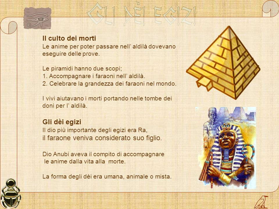il faraone veniva considerato suo figlio.
