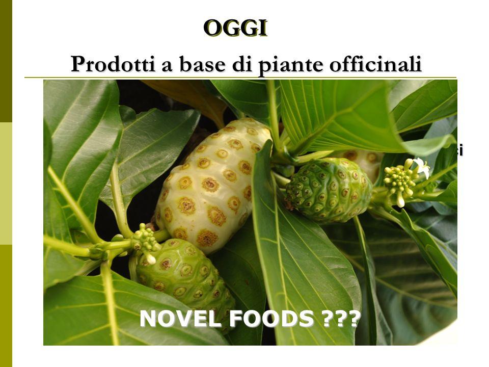 OGGI Prodotti a base di piante officinali