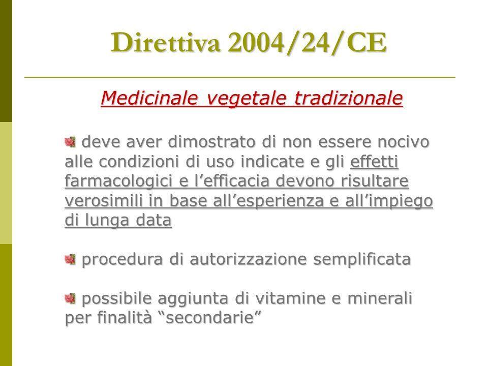 Medicinale vegetale tradizionale