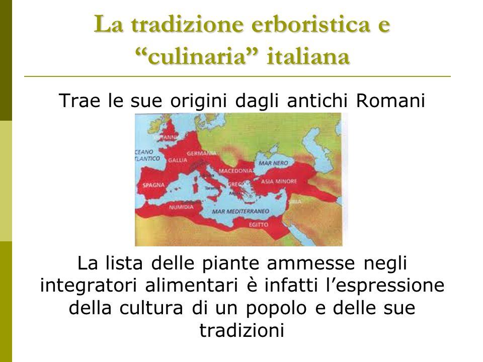 La tradizione erboristica e culinaria italiana