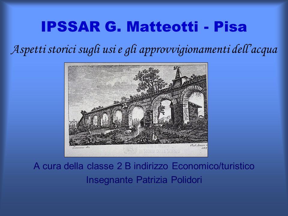 IPSSAR G. Matteotti - Pisa