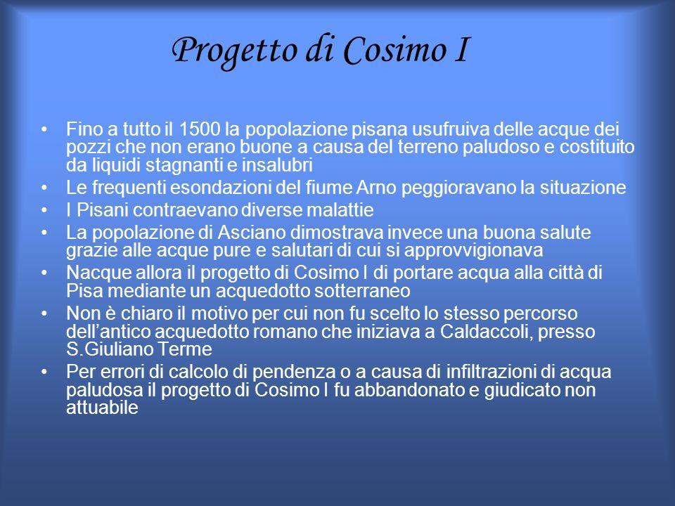 Progetto di Cosimo I