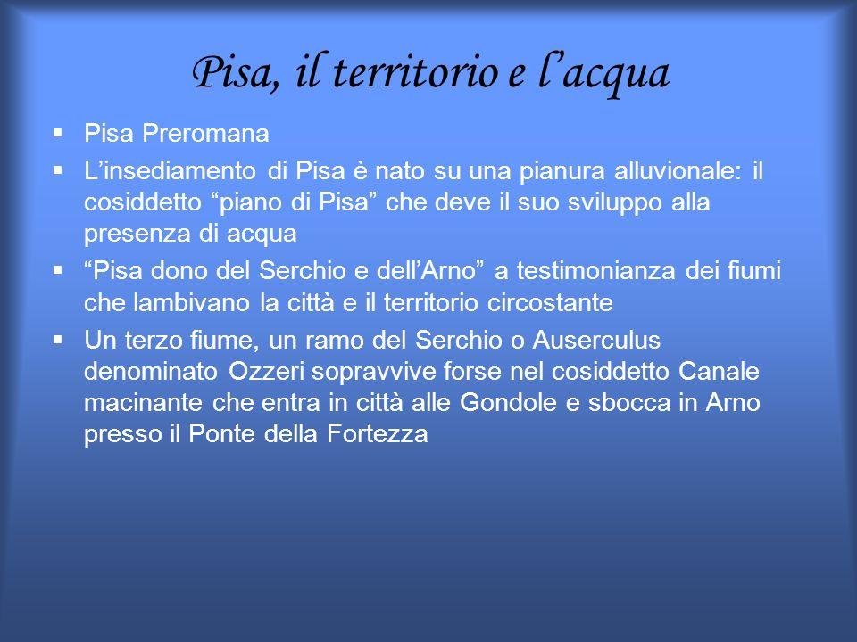 Pisa, il territorio e l'acqua